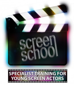 Screen School Logo with straline